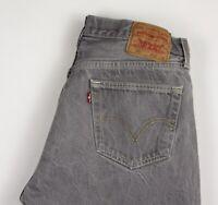 LEVI'S STRAUSS & CO Men 501 Straight Leg Casual Jeans Size W36 L30 AMZ462