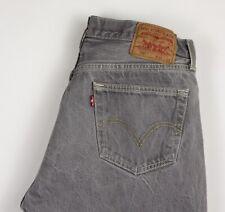Levi's Strauss & Co Hombre 501 Pierna Recta Informal Jeans Talla W36 L30 AMZ462
