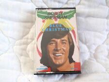 BOBBY SHERMAN BLUE CHRISTMAS CASSETTE HOLIDAY MUSIC 70'S POP ROCK TEEN IDOL