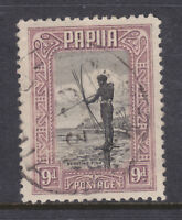 PAPUA: 1932 PICTORIAL    9d    USED AND SCARCE!!