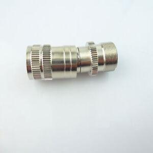 EASYINSMILE Dental Highspeed Handpiece Tube Adapter Converter Changer 4 to 2Hole