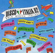 (rarissimo) DISCO ITALIA 92 - VARIOUS (CD) - 1992 Dischi Ricordi CDMRL 6454