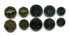 HAITI 5 20 50 CENTIMES 1 5 GOURDES 1995-2013 UNC COIN SET OF 5