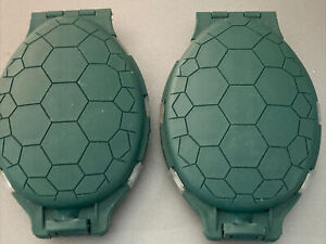 2 X Turtle Shell Style Tackle Pocket Boxes Fishing Fish Angler Bait New Green
