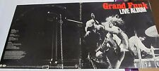 Grand Funk Live LP capital records 1ST pressing Sound Tested with POSTER 2 LPS