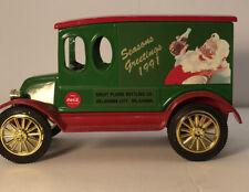 1991 Ertl  Classic Vehicles International Coca Cola Seasons Greetings Bank #2353