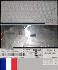 Azerty French Keyboard LENOVO S10-3 T1S MP-09J6 25010025 MP-09J66F0-6861 White