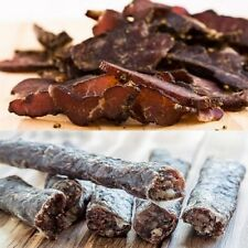 1KG BILTONG & Dry wors - MUNCHI (MIXED) BAG Mild to Hot