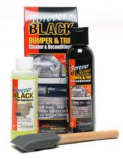 Forever Black Bumper & Trim Cleaner & Reconditioner Kit, Valeting, Detailing