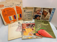 Vintage Quilting/ sewing  Books - Lot of Pattern and Instruction Books supplies