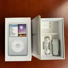 In- Box Apple iPod classic 7th Generation Silver (160 GB)