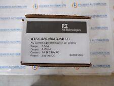 NK TECHNOLOGIES, ATSI-420-NCAC-24U-FL, AC CURRENT SWITCH TRANSDUCER.