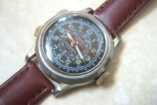 A DUNHALL SPORT MANUAL WIND CHRONOGRAPH WRISTWATCH c. MID 1950'S