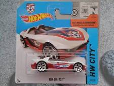 Hot Wheels 2014 # 012/250 Yur so Fast Blanco Lote L Croacia Fútbol