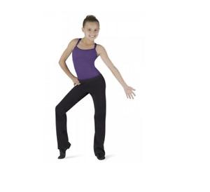 Black children's Bloch Naiyali jazz pants - CP5318  - All sizes