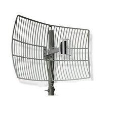 Gama larga 24dBi 2.4G Wifi Wireless Antena Parabólica de Rejilla N Hembra