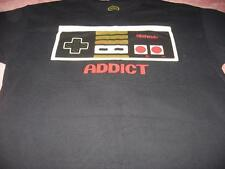 Nintendo Addict  Adult  Large T-Shirt