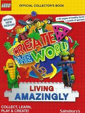 Sainsbury's LEGO Album Create The World Living Amazingly 2020 Book