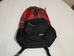 young and Reckless Y&R red black bookbag backpack surf skate book bag back pack