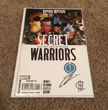 Secret Warriors #1 signed x2 Cheung HICKMAN Agents Of SHEILD HYDRA Daisy Johnson