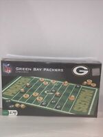 MasterPieces NFL Green Bay Packers Checkers Board Game Set, For 2 Players, Ages