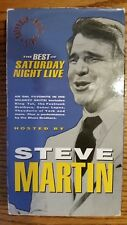 Best of Saturday Night Live hosted by Steve Martin VHS Video