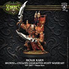 Hordes - Skorne - Molik Karn Character Heavy Warbeast - PIP 74037 - SEALED