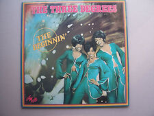 "THE THREE DEGREES  "" THE BEGINNIN' ""  LP 33t COULEUR  VOGUE 201 MD 9041 1979"