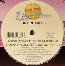 Tina Charles  -  Dance Little Lady  -  12Inch Single LP New