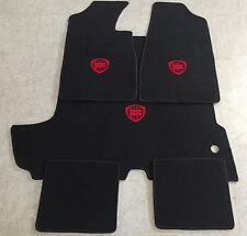 Autoteppich Fußmatten Kofferraum Set für Lancia Fulvia Coupe rot 5tlg. Neuware