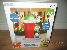 BIG INFLATABLE ~ MINIONS CHRISTMAS ~ CLIMBING CHIMNEY $129.99  BUY~IT~NOW