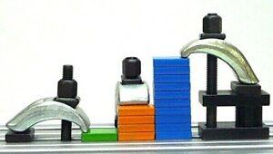OREX Spannpratzen SP-1 verschiedene Ausführungen für T-Nutenbreite 8 - 18 mm