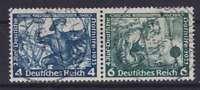DR ZD W 49, TOP rund gest., Wagner Nothilfe Zusammendruck Dt. Reich, used