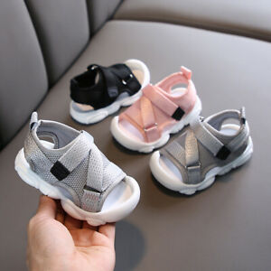 Boys Girls Child Summer Outdoor Sandal Baby Toddler Kid Casual Trainner Shoes