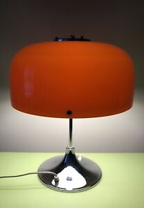 HARVEY GUZZINI MEBLO BEAUTIFUL BIG MUSHROOM MEDUSA LAMP PLASTIC-FANTASTIC MODERN