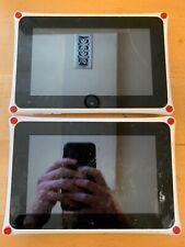 "Lot of 2 - Nabi 2 Tablet Wifi Kids Tablet 7"" White - Nabi2-NV7A - P/R Defective"