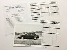 1996 Suzuki Esteem Original Car Product News Guide Brochure like and Print