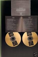 ROBERT JOHNSON 40 track DOUBLE CD BOX * GOLD CDs