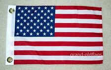 "12""X18"" U.S./US AMERICAN FLAG POLY MOTORCYCLE /CAR/BOAT 12X18"