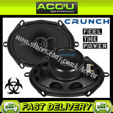 "Crunch Audio Definition DSX572 5"" x 7"" 5x7 2-Way Car Door Coaxial Speakers Set"