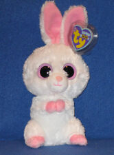 """TY BEANIE BOOS - CARROTS the 6"""" RABBIT - MINT with MINT TAGS"""