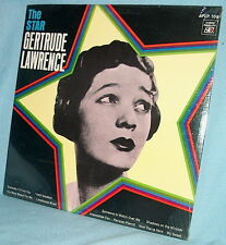 LP FACTORY SEALED Gertrude Lawrence THE STAR Audio Fidelity AFLP 709