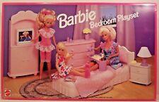 Barbie Bedroom Playset 1993 Mattel with Original BOX USED