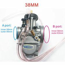 Carburetor PWK38 38mm Air Striker KX250 YZ250 CR250 For Keihin Honda Suzuki ATV