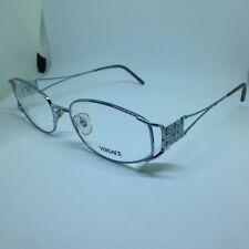 VERSACE 1068-B occhiali da vista vintage donna metal silver woman glasses brille