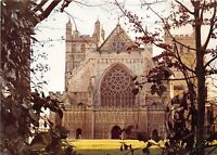 B86766 exeter cathedral west front   uk
