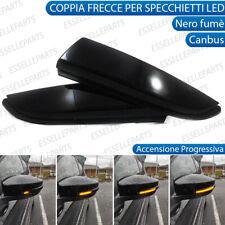 COPPIA FRECCE LATERALI PROGRESSIVE A LED PER RENAULT CLIO 4 IV CANBUS DINAMICHE