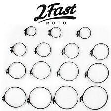 """2FastMoto Carb Intake Air Box Filter Band Clamp Motorcycle Honda 70""""s"""