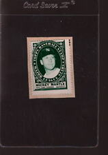 1961 TOPPS STAMPS MICKEY MANTLE STAMPS CUT FROM GLUED ALBUM *048073