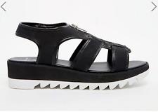 RELIGION - SIN Flatform Zip Sandals - Sandali con plateau num 36 (UK 3)